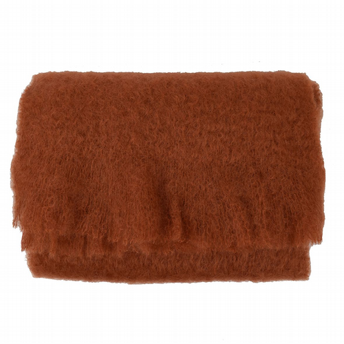 Large Mohair Scarf - Ginger